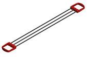 Эспандер плечевой 12 кг, на рост от 180 см