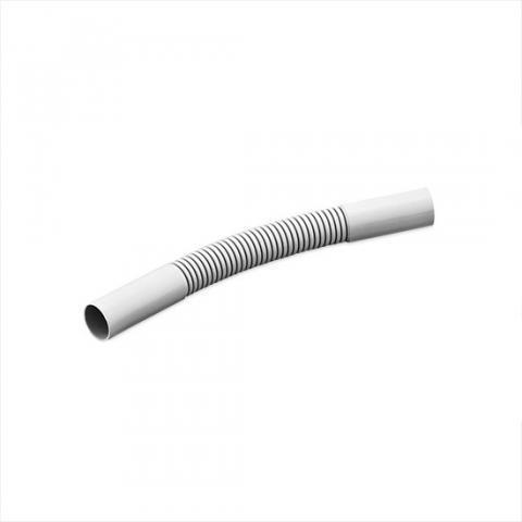 Поворот гибкий гофрированный соединительный для трубы РУВИНИЛ 32 мм