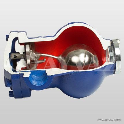 Поплавковый конденсатоотводчик со смотровым стеклом SK-55, фото 2