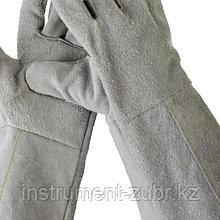 Краги СИБИН из спилка, XL, длина-350мм