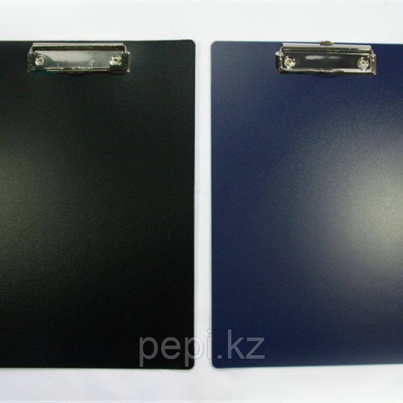 Папка планшет А4 пластик Канцфайл (синяя)