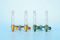 Кислородный регулятор / указатель потока сдвоенный 0-15 л/мин