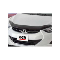 Мухобойка (дефлектор капота) Hyundai Elantra 2011-2014