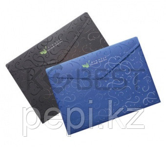 Папка пластик липучка A4 Kobest E4228 0,18мм (конверт верт.)
