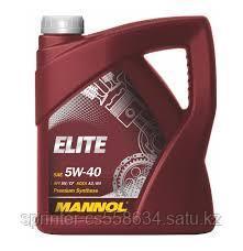 Моторное масло MANNOL Elite 5W40 5 литров