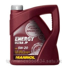 Моторное масло MANNOL Energy Ultra JP 5W20 4 литра