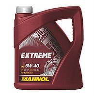 Моторное масло MANNOL Extreme 5W40 5 литров