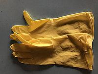 Перчатки резиновые (10 шт в пачке)