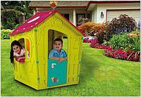 Игровой домик Keter Волшебный с петушком зеленый-роз-бирюза 17185442, фото 1