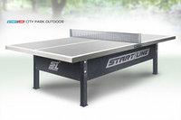 Теннисный стол Start Line City Park Outdoor - сверхпрочный антивандальный стол для игры на улице