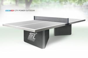 Теннисный стол Start Line City Power Outdoor - бетонный антивандальный теннисный стол для улицы