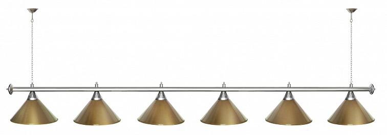 Startbilliards, 6 плафонов, золото/хром