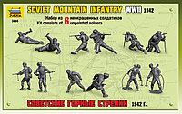 Сборная модель Советские горные стрелки 1942г 1\35 арт 3606