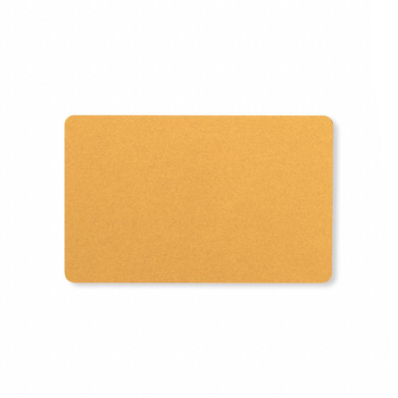 Золотые чистые PVC карты