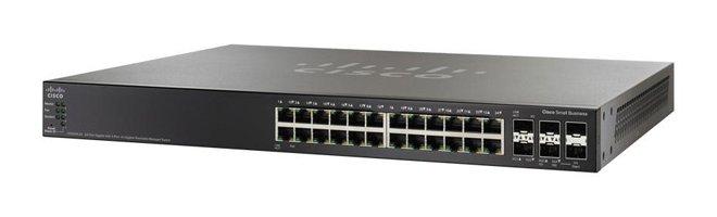 Коммутатор Cisco SG500X-24P-K9-G5