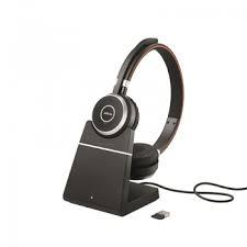 Проводная гарнитура Jabra Evolve 65 Charging Stand, Link360, Stereo UC