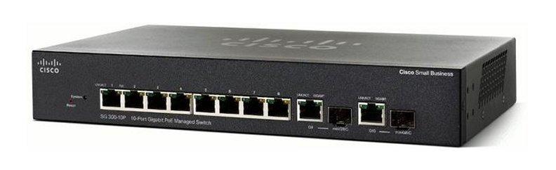 Коммутатор Cisco SG350-10P-K9-EU