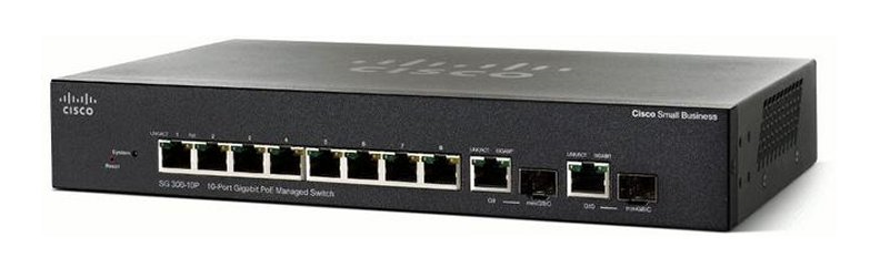 Коммутатор Cisco SG350-10-K9-EU