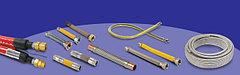 Гибкие металлические шланги для газообразных и жидких сред под давлением