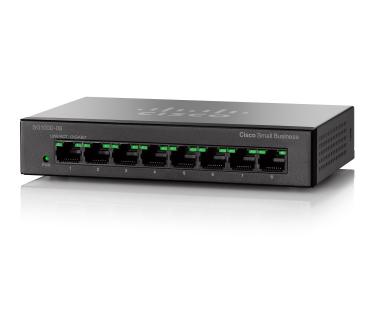 Коммутатор Cisco SG110D-08HP-EU
