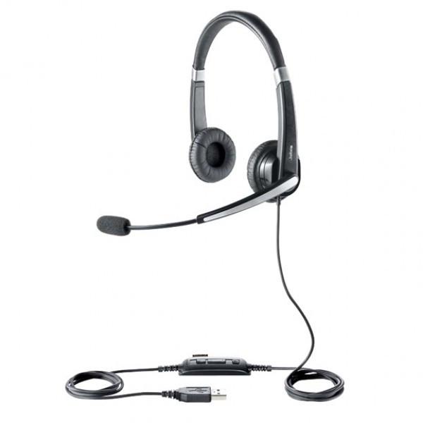 Проводная гарнитура Jabra UC VOICE 550 MS Duo