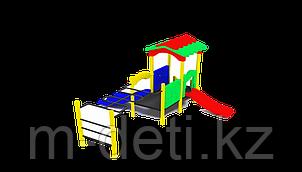 Детский игровой комплекс Львенок