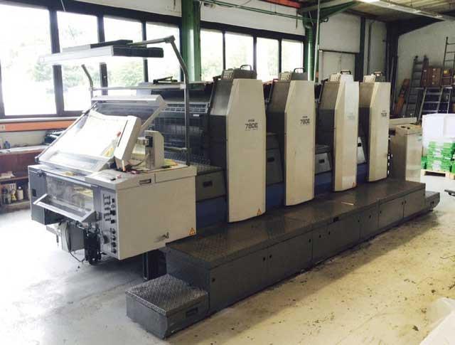 Ryobi 784 EP б/у 2007г - 4-х красочная печатная машина