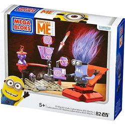 Конструктор Mega Bloks Despicable Me CNC77 Лаборатория Эль Мачо