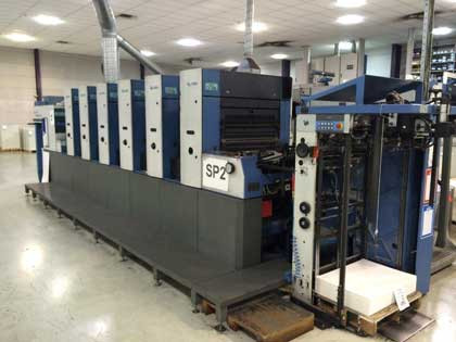 KBA Rapida 74-6 CX б/у 2004г - 6-красочная печатная машина