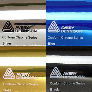 Автовинил Avery Black Chrome (Черный Хром), фото 2