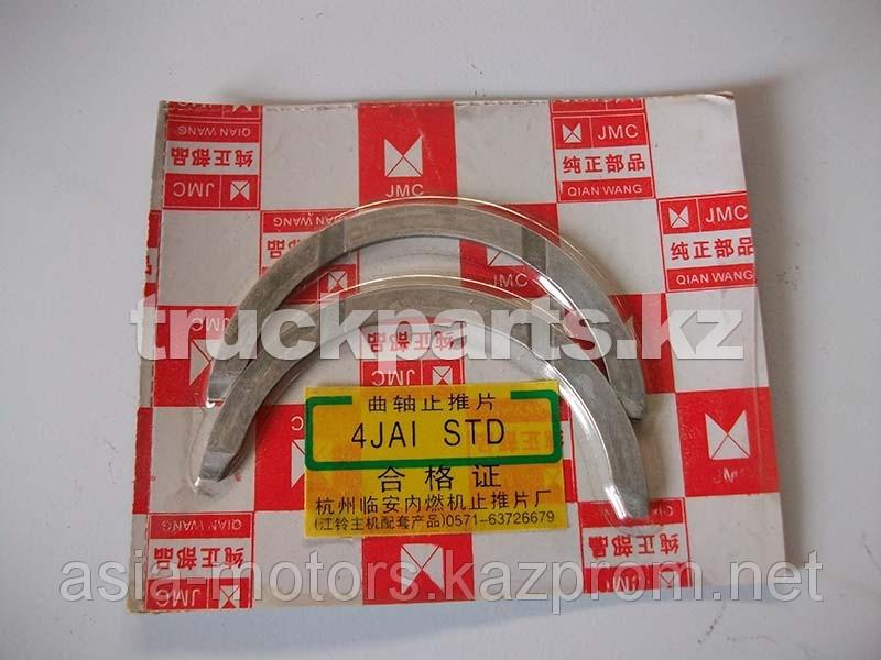 Полукольца упорные коленвала 4JAI STD ДВС BJ493ZLQ E049302000010