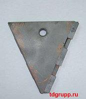 Треугольный забурник 300А 66-06.01.300А для буров БКМ