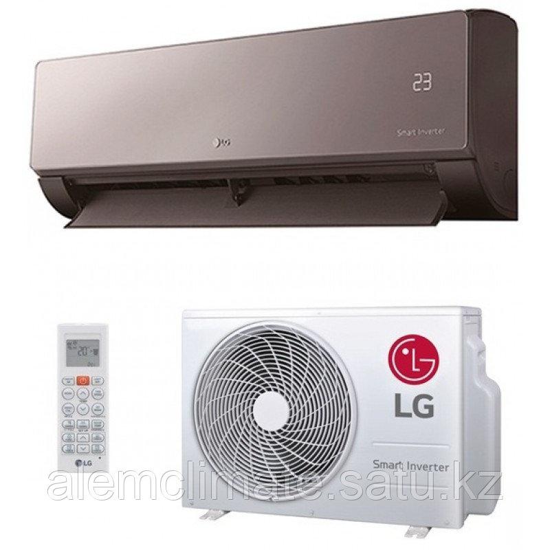 Настенный кондиционер LG AM12BP серия ARTCOOL MIRROR INVERTOR NEW (35-40м2.)