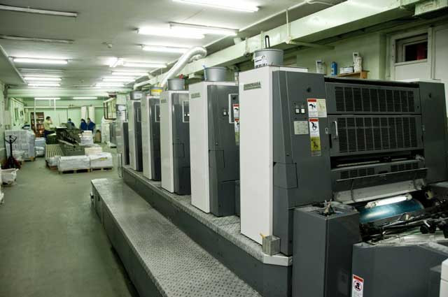 Shinohara 75-VH б/у 2006г - пятикрасочная печатная машина