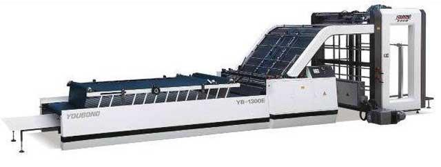 Youbond YB-1300E - автоматическая кашировальная машина