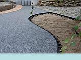 Бордюр Gidrolica Line  пластиковый черный 1000*80*45мм     Whats up87075705151, фото 2