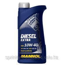 Моторное масло MANNOL Diesel Extra 10W40 1 литр