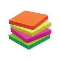 Стикеры липкие разноцветные Stick note, блок 5 цветов, фото 1