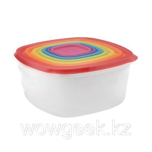 Набор контейнеров для продуктов Quality Home 7 шт