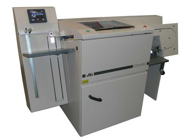 JBI Alpha-Doc Mk IV - автоматическая перфорационная машина