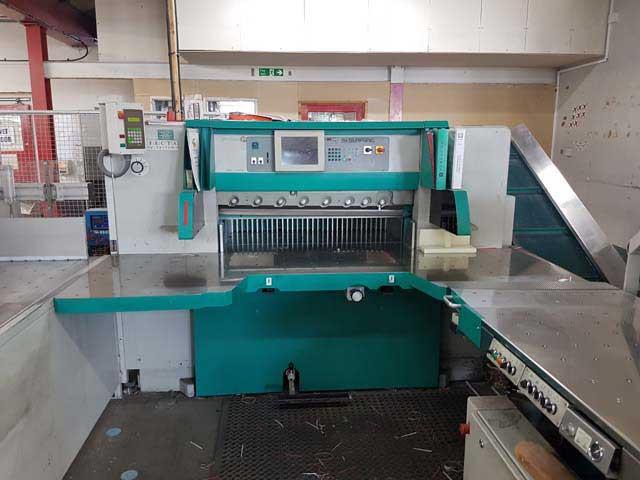 Perfecta 115TVC б/у 2005г - бумагорезательная машина