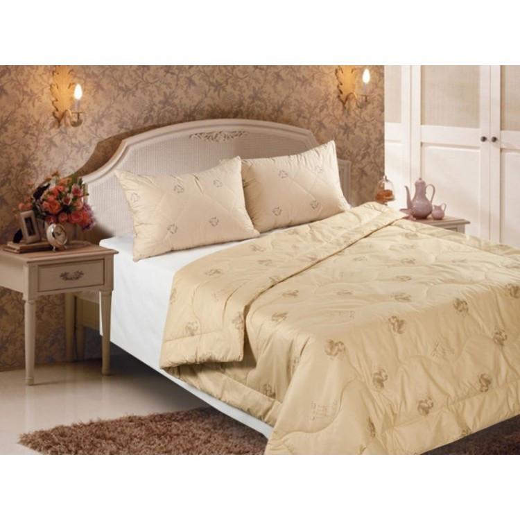 Одеяло, верблюжья шерсть 140х205
