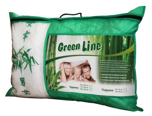 Одеяло Green Line Бамбук/Полиэстер размер 172х205