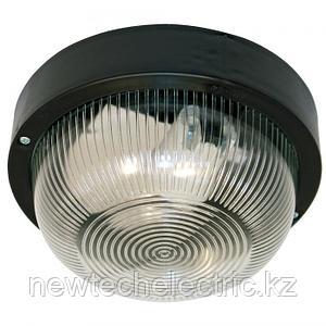 Светильник Фарпласт НБО 23-60-003 IP44 Круг без решетки черный 1005500674