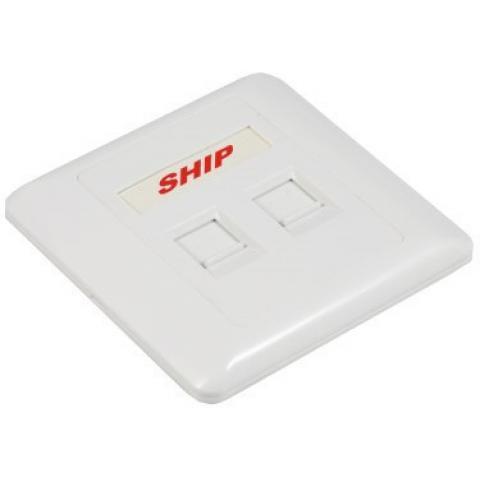 Лицевая панель SHIP A160-2 под 2 модуля