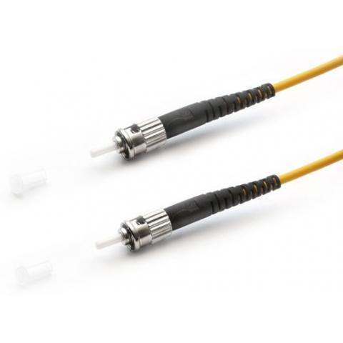 Патч-корд АЗОП 2ST/UPC-2ST/UPC SM 9/125 Duplex 3.0мм 0.5м Оптоволоконный