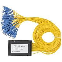Сплиттер Оптоволоконный А-Оптик PLC с брекетом 1х32 SC/UPC 1,5м SM
