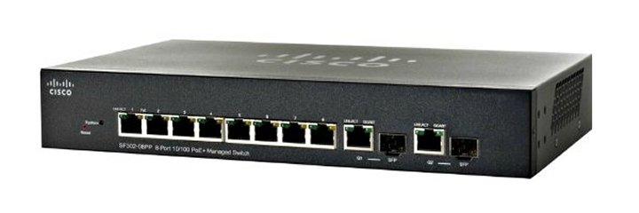 Коммутатор Cisco SF302-08PP-K9-EU