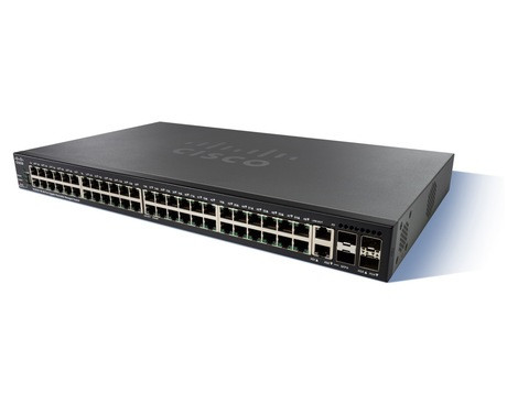 Коммутатор Cisco SG350X-48MP-K9-EU