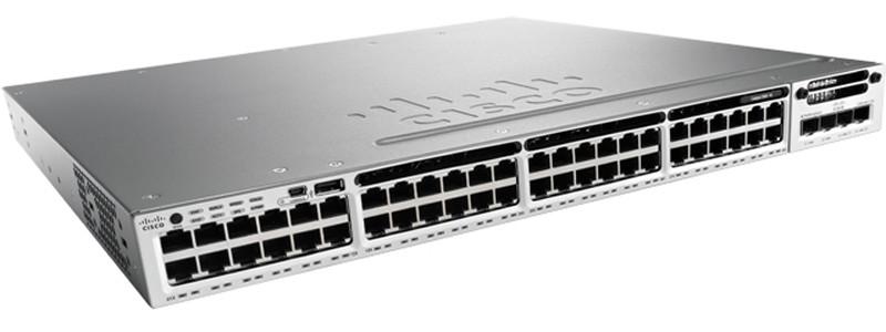 Коммутатор Cisco Catalyst 3850 (WS-C3850-48T-E)